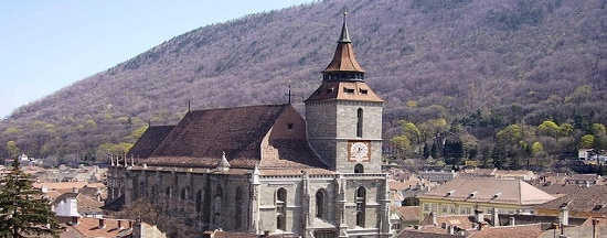 Black-Church-Brasov Private full-day trip from Bucharest to Transylvania's Castles