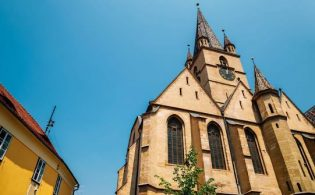 Cathedral-of-Saint-Mary-315x195 Transfers from Bucharest Airport (OTP) to Sibiu