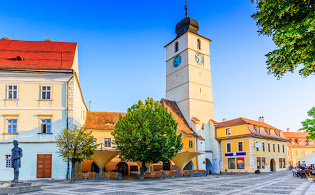 The-Council-Tower Transfers from Bucharest Airport (OTP) to Sibiu